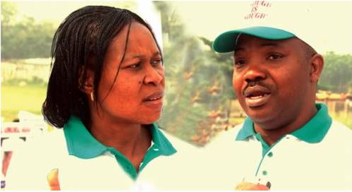 Odumakin and wife