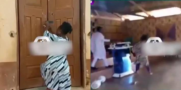 Pastor's wife locks church to prevent husband from marrying another woman