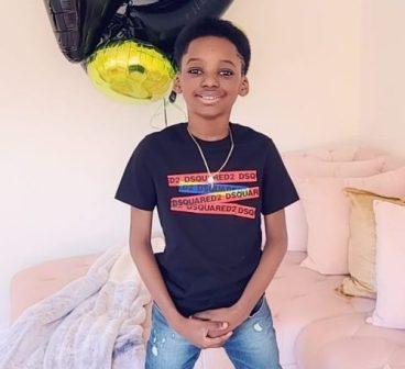 2Baba celebrates 9-year-old son with Pero Adeniyi