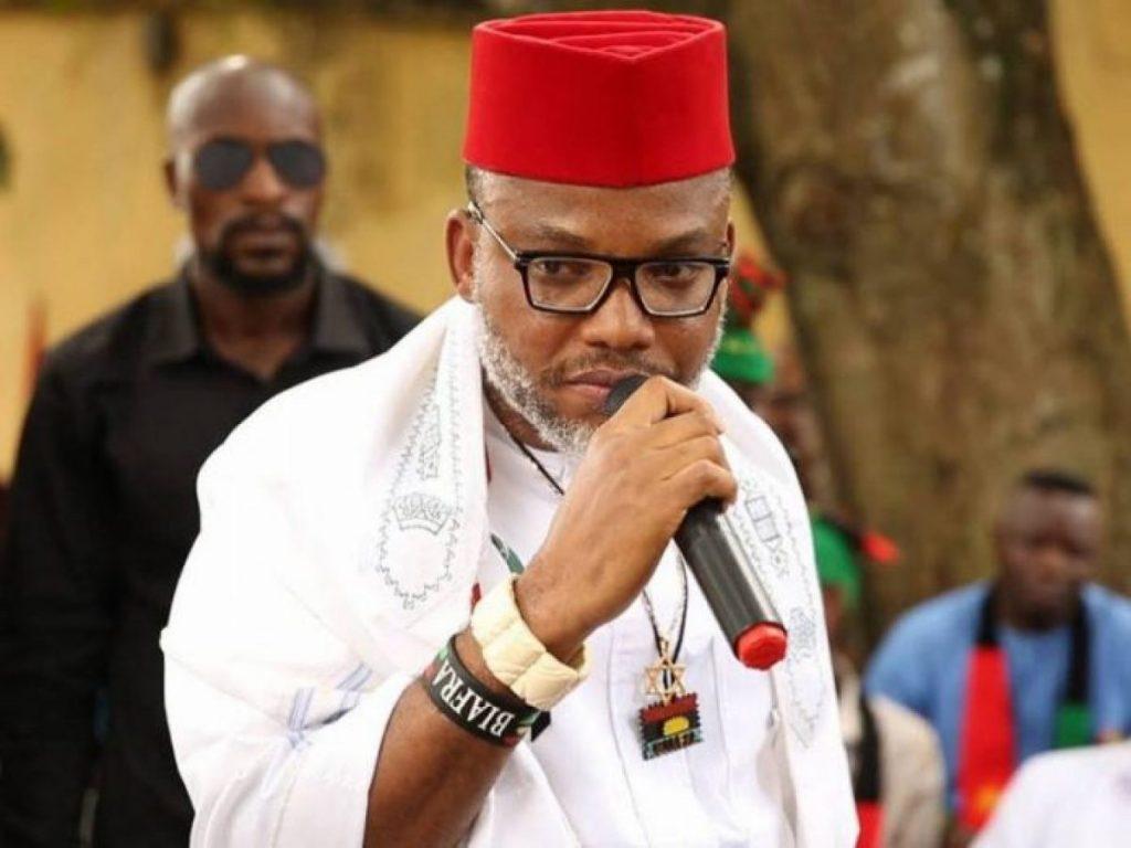 Indigenous People of Biafra leader, Nnamdi Kanu
