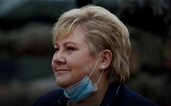 Norwegian PM, Solberg