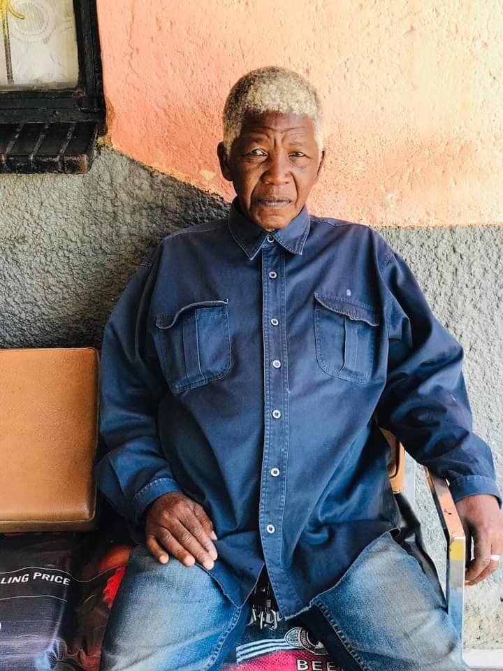 Nelson Mandela's lookalike