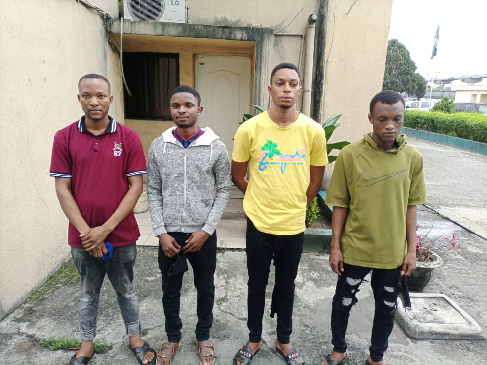 Fraudsters caught in Port Harcourt