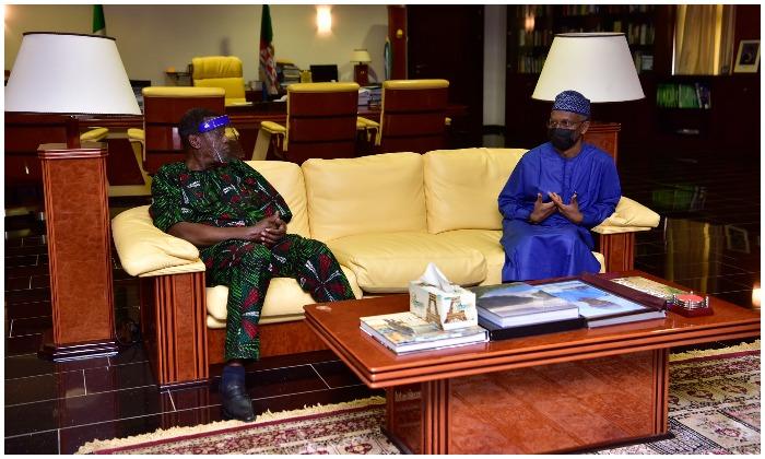 Pastor Adeboye and Governor El-Rufai