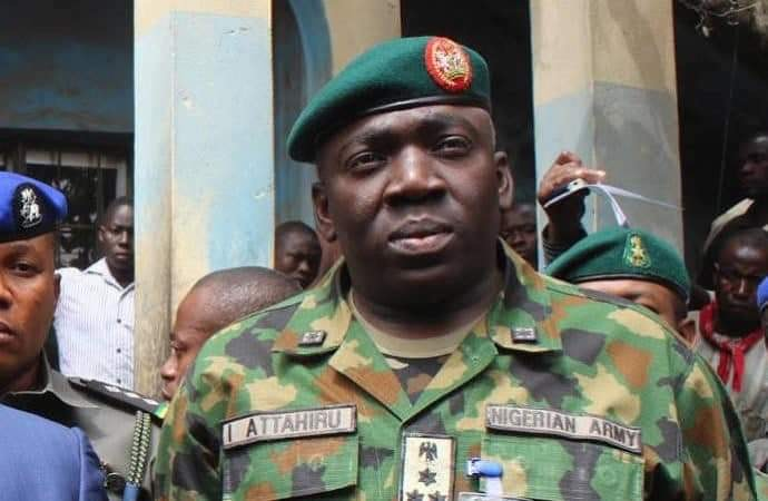 Chief of Army Staff, Ibrahim Attahiru
