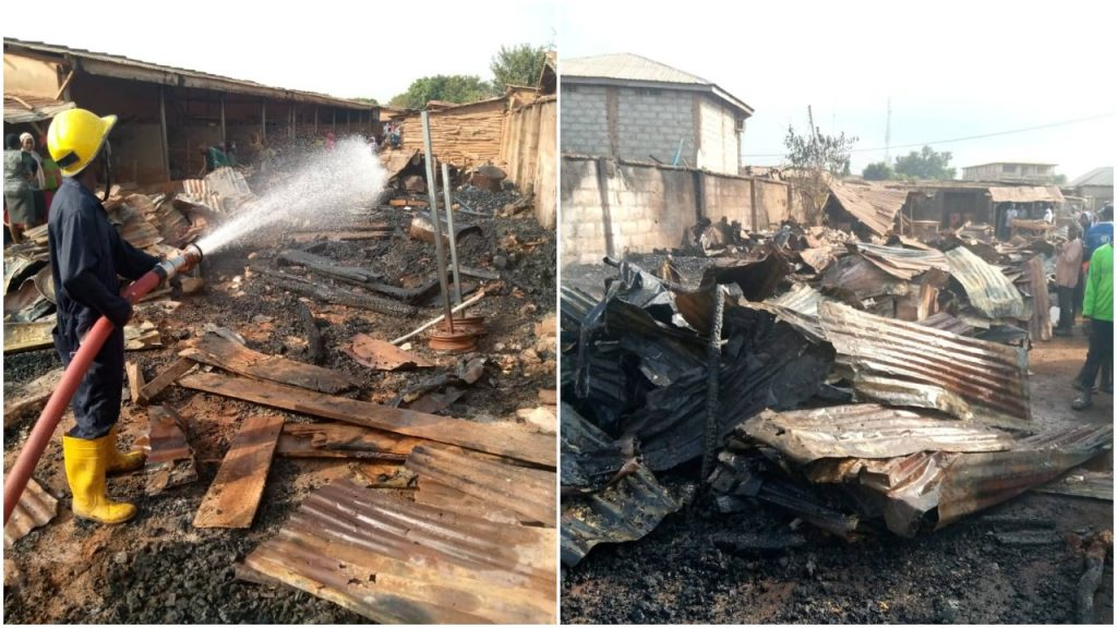 Oro fire destroyed 30 shops