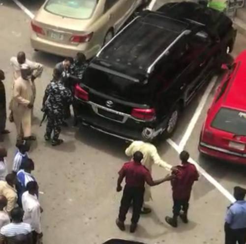 Security guard attacked by CCT Chairman, Danladi Umar
