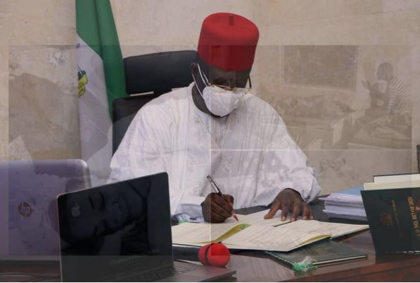 Ebonyi state governor, Dave Umahi