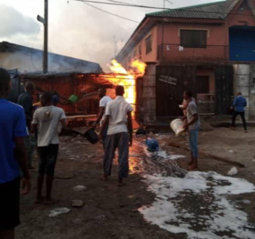 Agboju fire