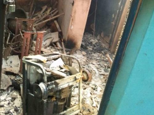 Abia police destroyed by gunmen
