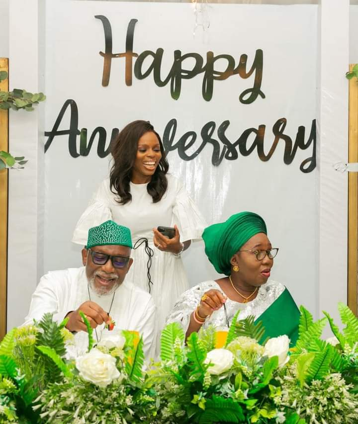 Akeredolu and wife celebrate 40th wedding anniversary
