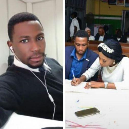 Adekunle died after his court wedding