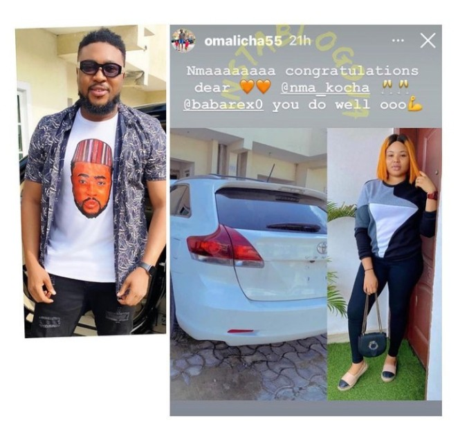 Nosa buys car for his wife
