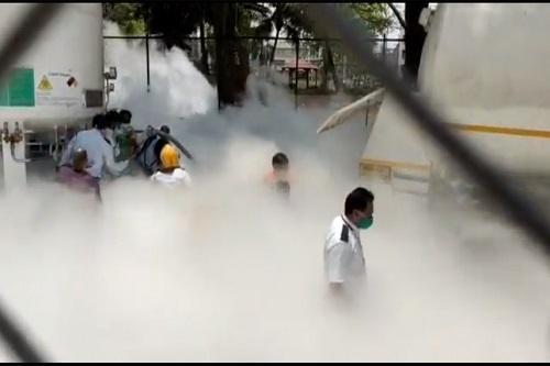 Oxygen leak in India kills 22 persons in India