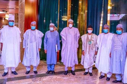 Buhari and northern governors