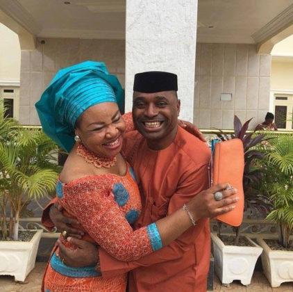 Kenneth Okonkwo and wife, Ifeoma