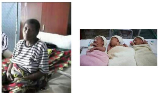 Mrs. Tegbe gave birth at the age of 55