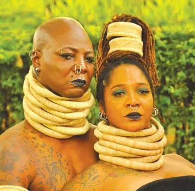 Charlyboy and wife