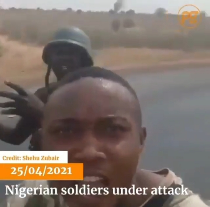 Airforce mistakenly bomb soldiers