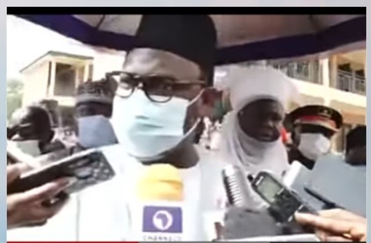 Niger Governor, Abubakar Sani Bello