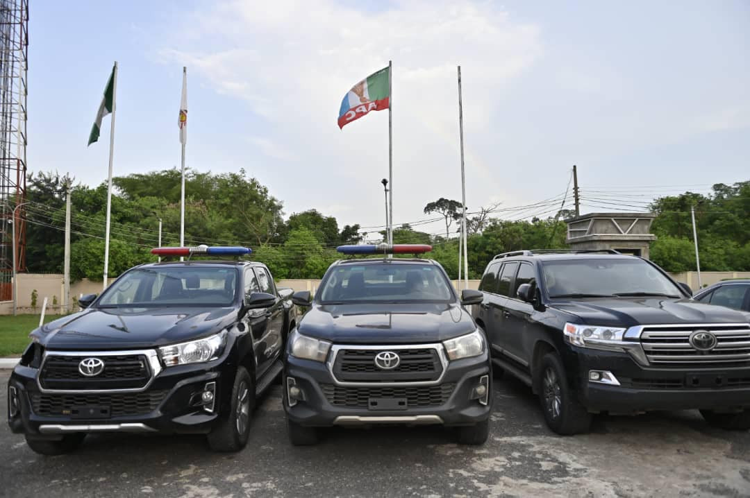Cars recovered from Agbola