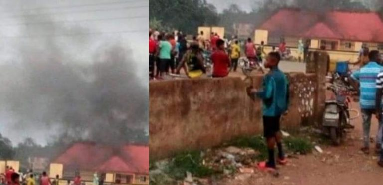 Imo police station attacked by gunmen