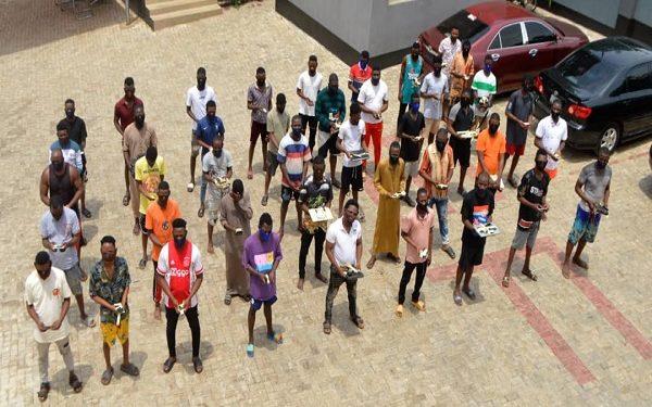 Suspected internet fraudsters arrested in Abeokuta
