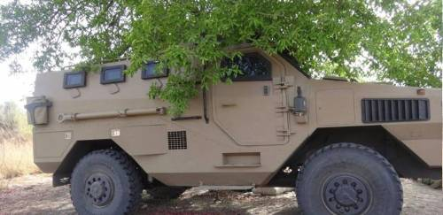 Nigerian army tanks and vehicles captured by terrorists