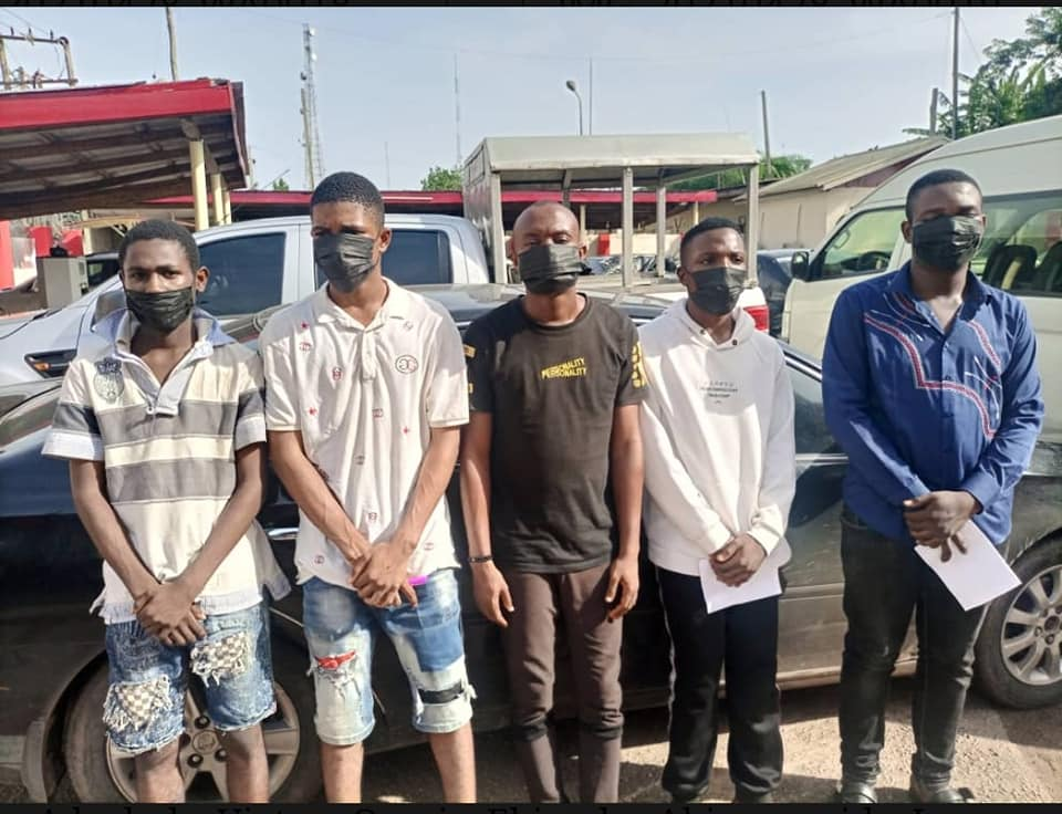 Suspected yahoo boys arrested in Oyo state