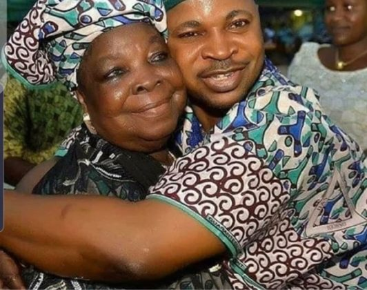 Oluomo and his mother