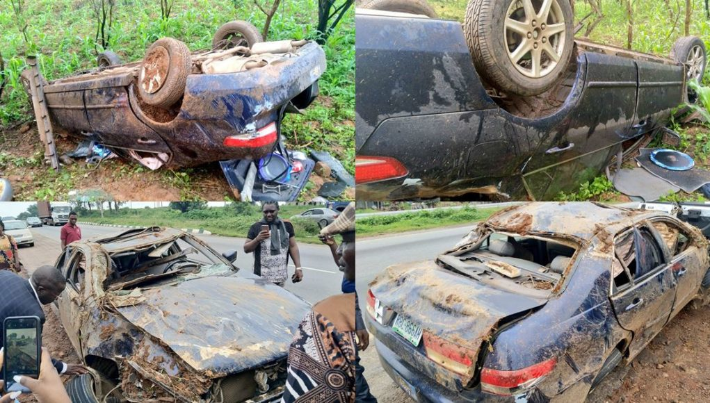 Man survives terrifying accident