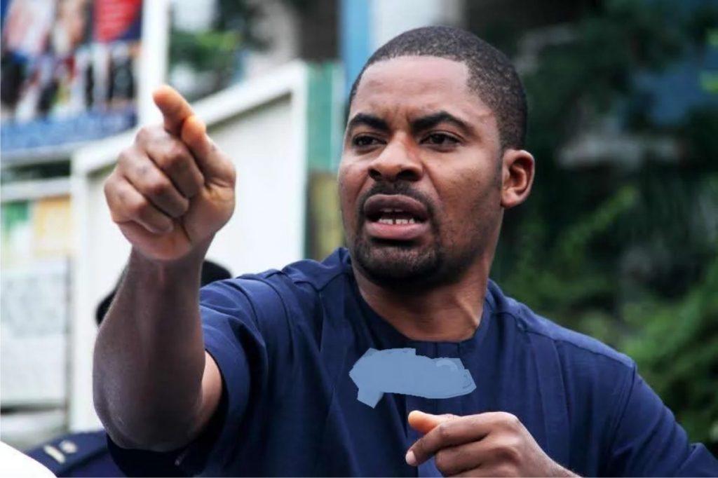 Activist Deji Adeyanju