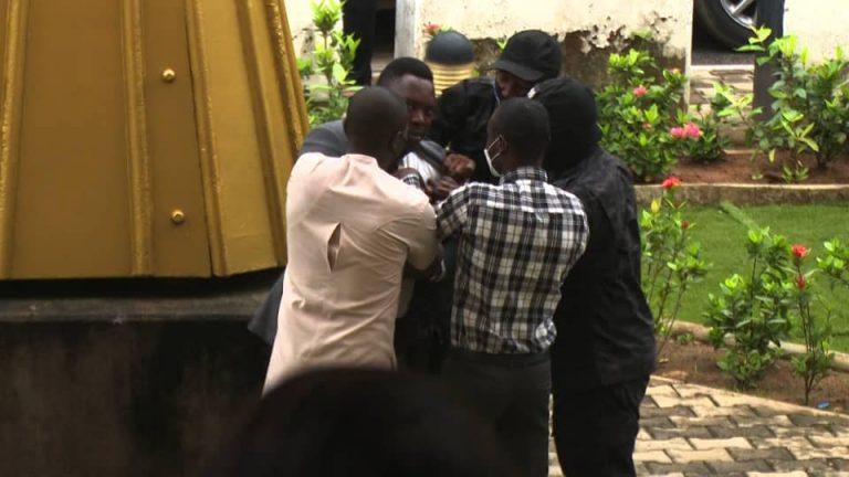 DSS operatives assault journalist