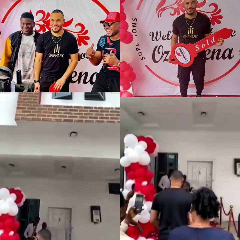 Ozo gets house as gift from fans
