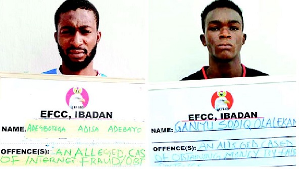 Yahoo boys sentenced by court in Oyo