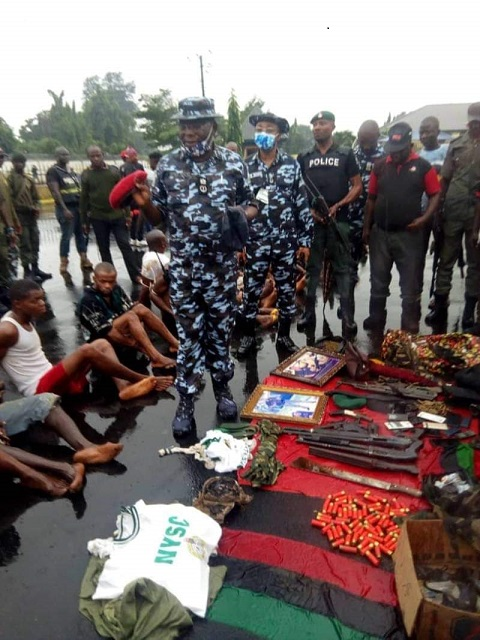 ESN members arrested in Imo