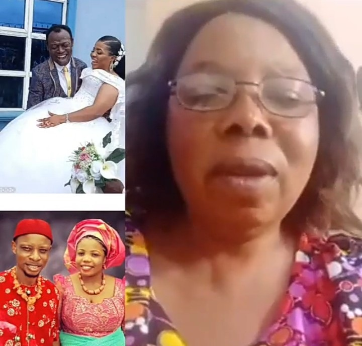 The woman defended her daughter for marrying the pastor