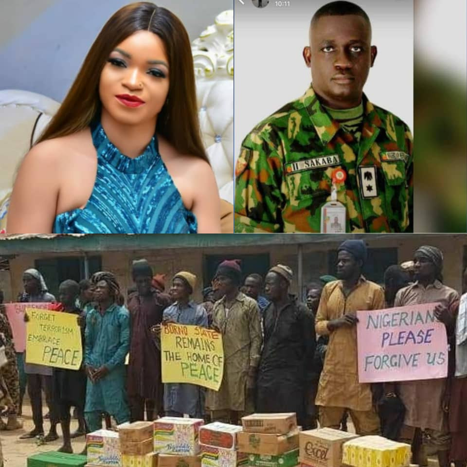 Forgive Them For Making Me a Young Widow - Nigerian Lady Reacts After Army Shares Photos of Repentant Boko Haram Members Asking for Forgiveness