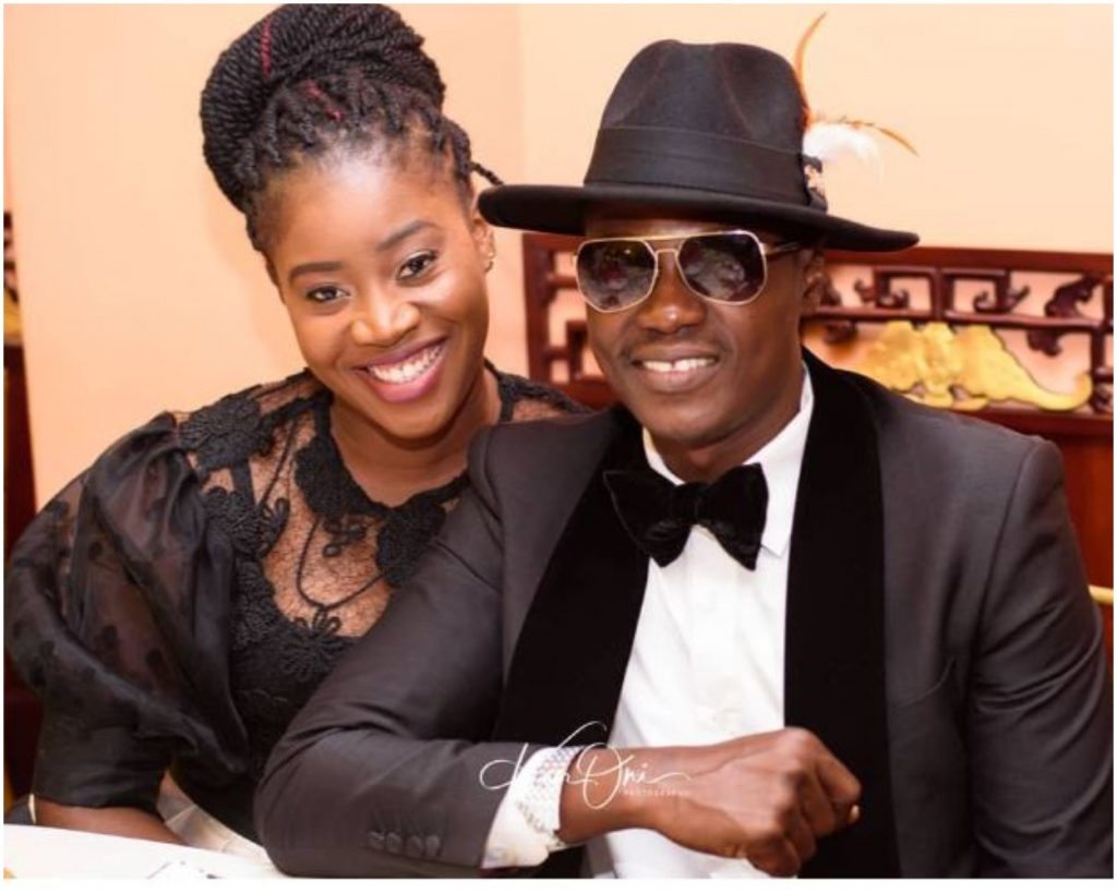 Sound Sultan and his wife, Fasasi