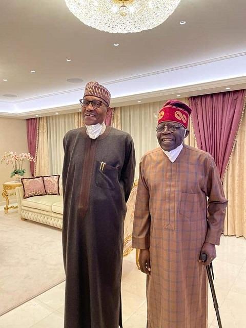 Buhari and Tinubu in London