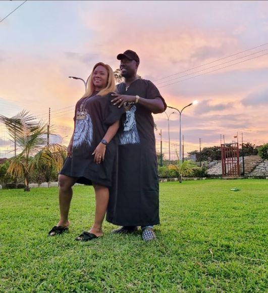 Cubana and wife