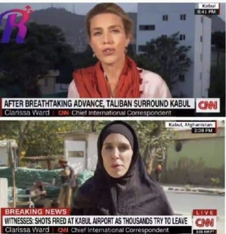 CNN reporter, Ward