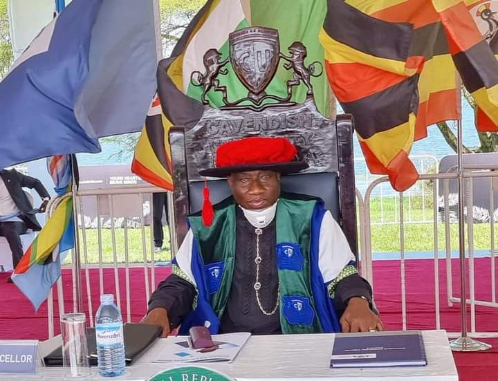 Jonathan inaugurated as Cavendish University chancellor