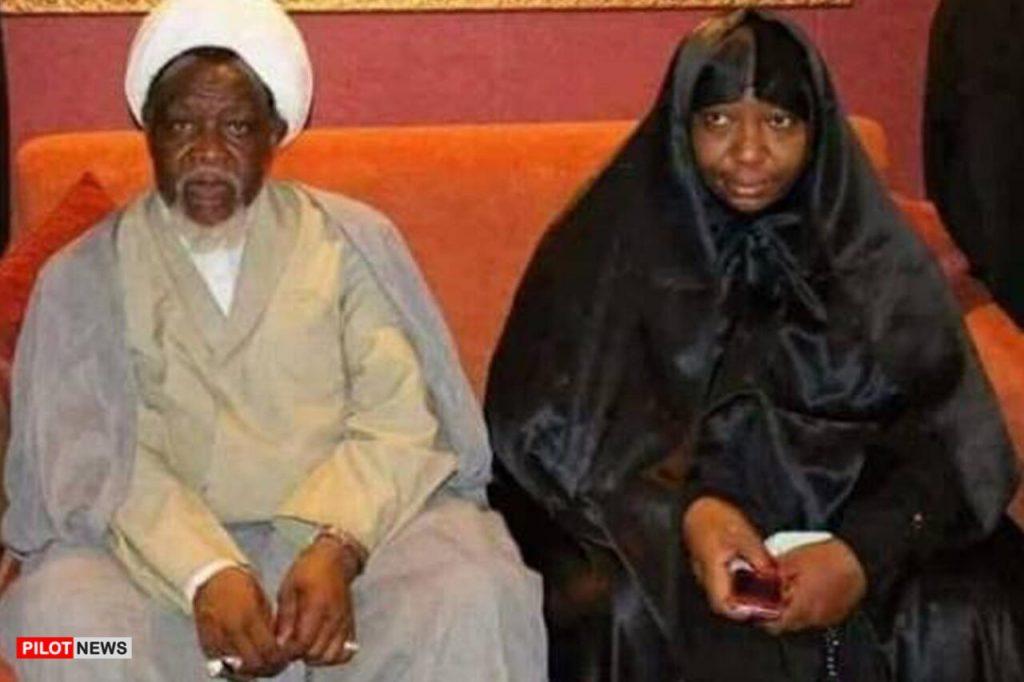 El-Zakzaky and wife, Malama Zeenah Ibrahim