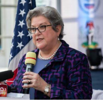 US Ambassador to Nigeria, Mary Leonard