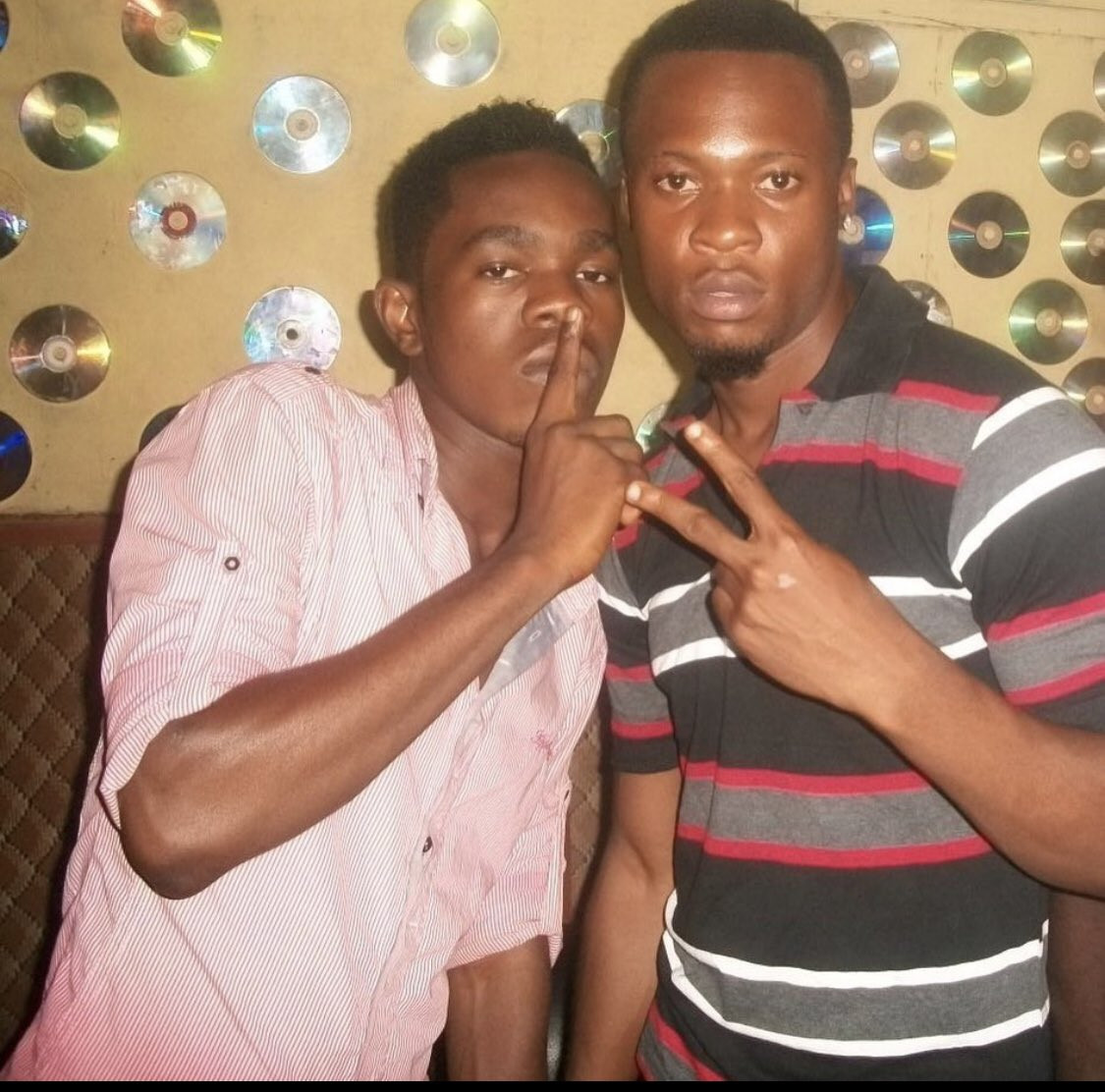 Patoranking and Flavour's throwback photo