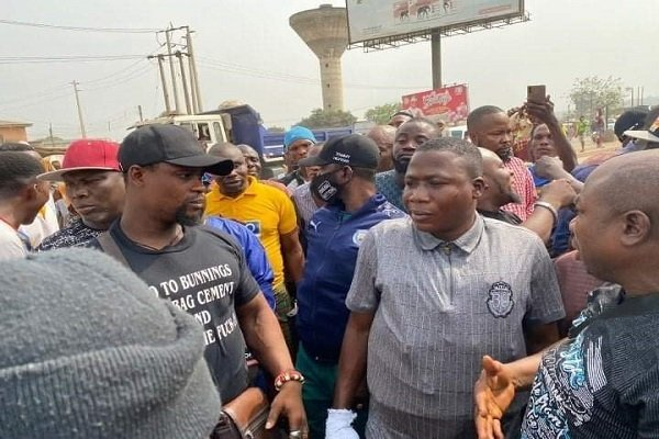 Sunday Igboho in Ogun state