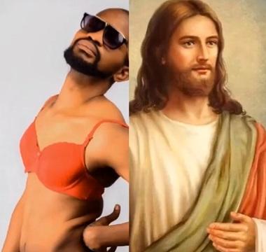 Uche Maduagwu and Jesus