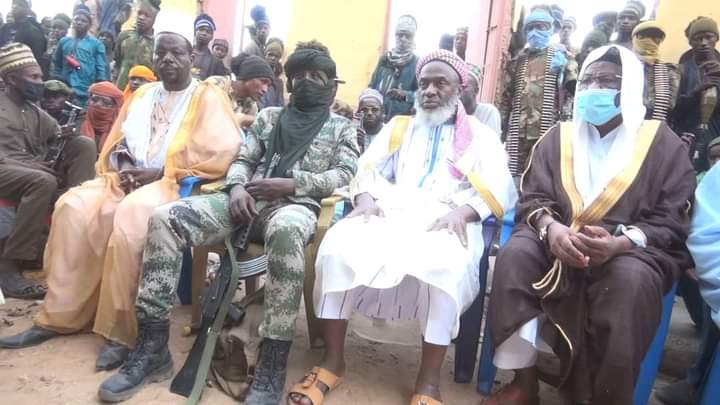 Sheikh visits bandits in Zamfara forest