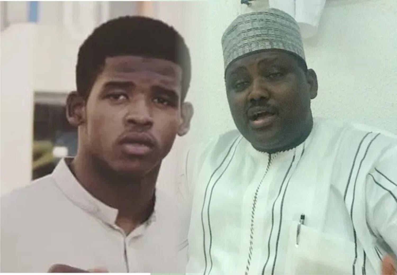 Faisal and his father Maina